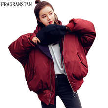 2017 Autumn Winter New Fashion Women Thick Warm Padded Cotton Coats Casual Plus Size Hooded Parkas Female Wadded Jackets TGH179