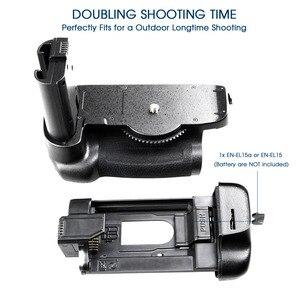Image 4 - Профессиональный многофункциональный аккумулятор Travor для камеры Nikon D7500 DSLR