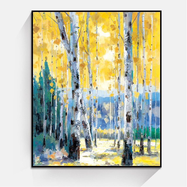 Many Size Landscape Oil Painting Home Decoration Paintings Wall Art ...