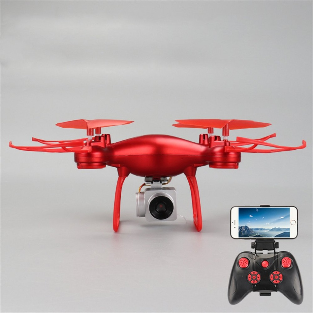 008 Smart 4CH RC Quadcopter Drone Aircraft UAV with Altitude Hold One Key Take off Headless Mode 3D Flips for Children Gift in Camera Drones from Consumer Electronics