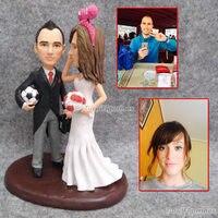 Торт Декор Пользовательские Подарок для жениха и невесты Свадебные специальный подарок для свадьбы grilfriend бойфренда Обручение подарок