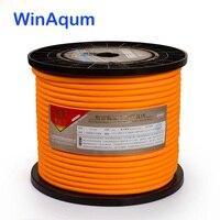 WinAqum Silver Plated Copper Wire HiFi Audio Speaker Cable For DIY WA 210 220