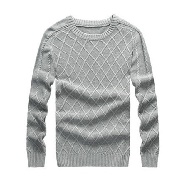 Men Pullover Sweaters Knitting Pattern Mens Sweaters Brand New O