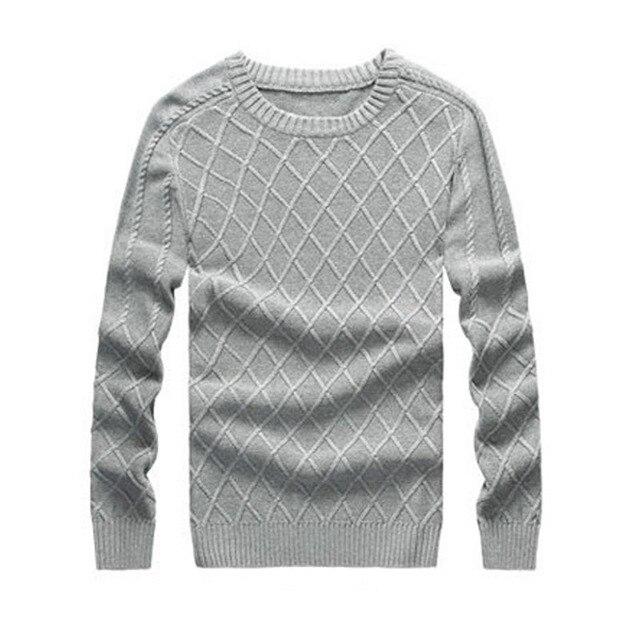 Suéteres hombres suéter patrón que hace punto para hombre de los ...