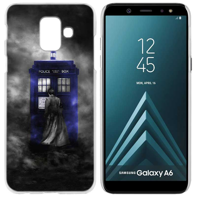 Half-wrapped Case Hameinuo Tardis Box Doctor Who Cover Phone Case For Samsung Galaxy J4 J6 J8 A9 A7 2018 A6 A8 2018 Plus J7 Duo To Enjoy High Reputation In The International Market