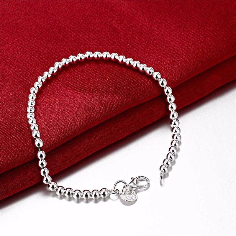 çmim me shumicë 50% zbritje byzylyk argjendi bizhuteri argjendi të - Bizhuteri të modës - Foto 4