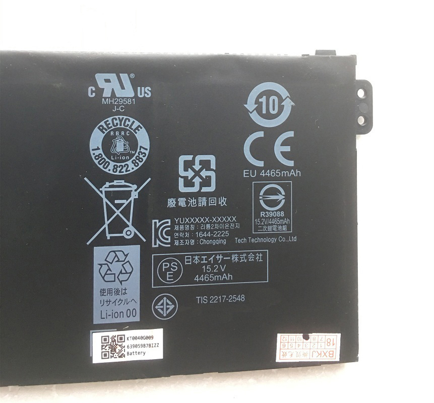 New Genuine AC16A8N Battery 4ICP7//61//80 for Acer Aspire V17 Nitro BE VN7-793G