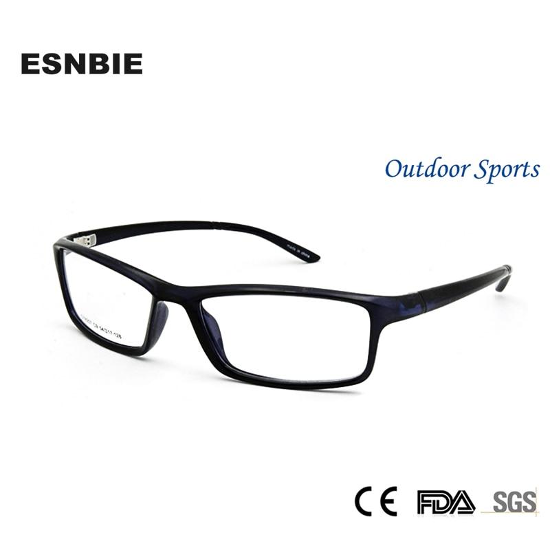 ᑎ‰ESNBIE OPTICAL TR90 Memory Men\'s Glasses Frame Men Myopia Glasses ...