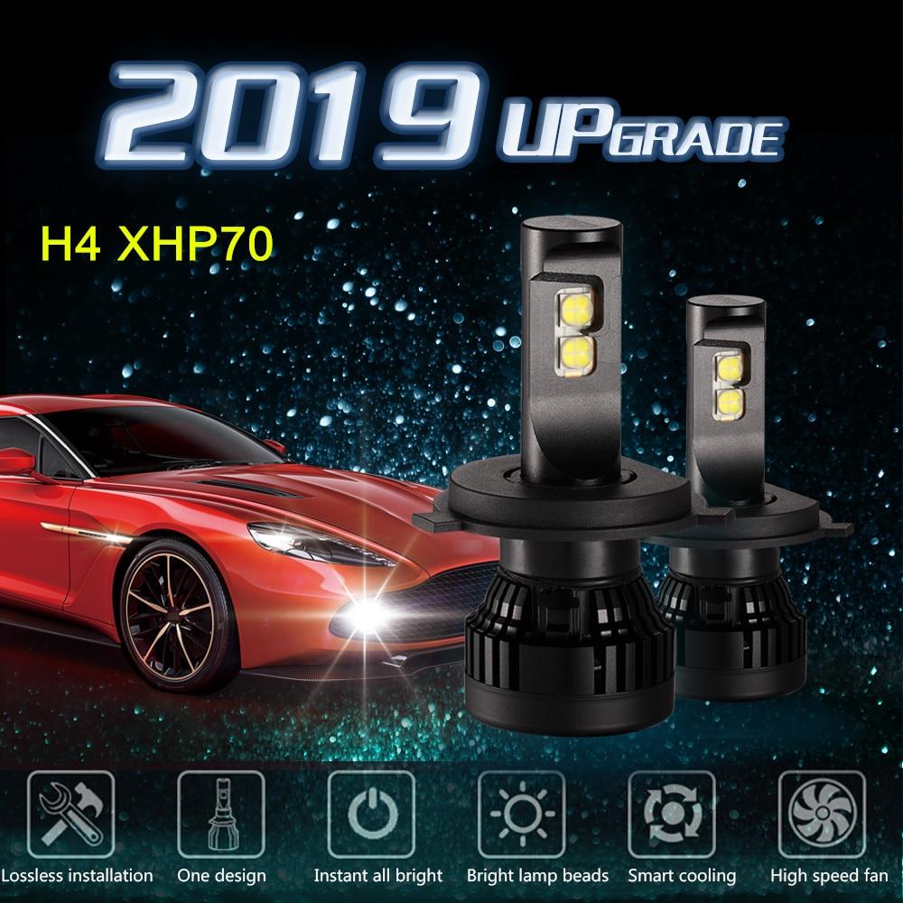 hir2 X70 Cree Xhp70 Chip H4 H7 H11 H8 9012 120w Turbo Led Car Headlight Bulbs D1s D2s D4s 5202 Canbus 9005 hb3 Lampada Bulbs
