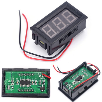 High Quality And Inexpensive DC 0-30V Red Auto Car Mini Voltmeter Tester Digital Voltage Test Battery Hot Sell 1pcs image
