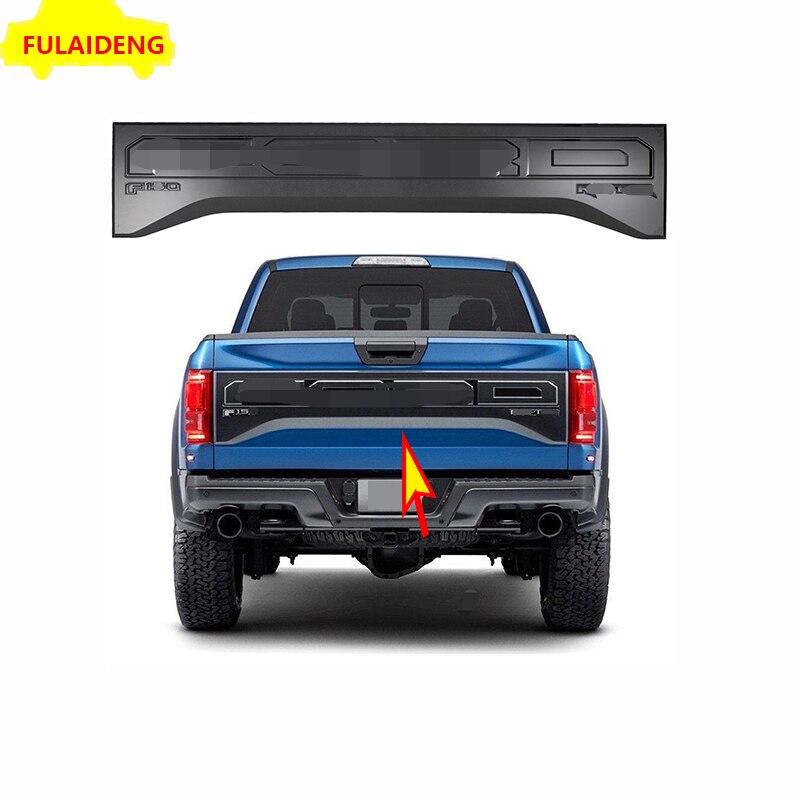 4PCS ABS Chrome Interior Door Decor Frame Trim For Ford F150 F-150 2015-2018