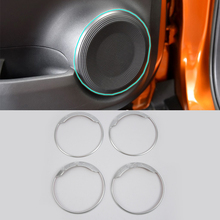 ABS Auto Styling Matte Style Left radio cover For Nissan 17 KICKS car accessories