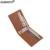 Moda ultra-delgada Para Hombre Monedero Famosa Marca Diseño Money Clip Del Sostenedor De Cuero Sintético Para Dinero MJJ006