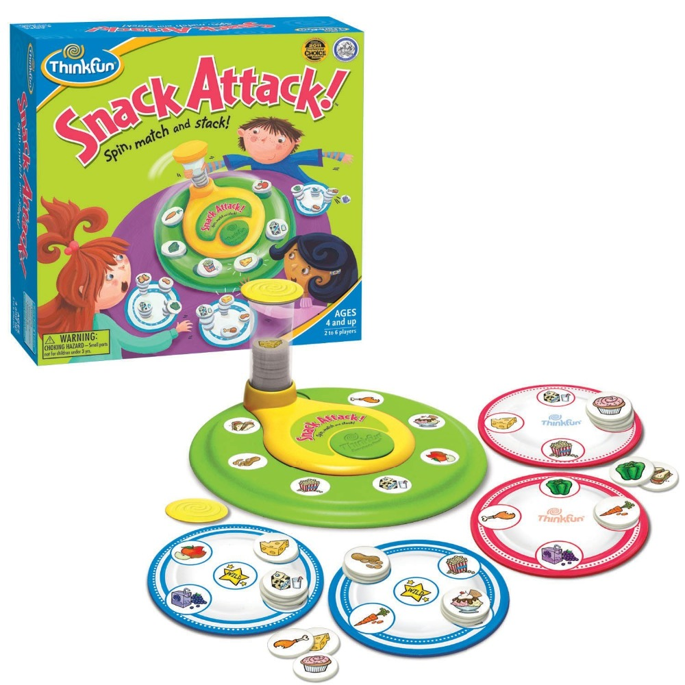 [Funny] Family parent-child Snack Attack Board Matching Stacking Game Educational puzzle toys interactive Board game kids gift