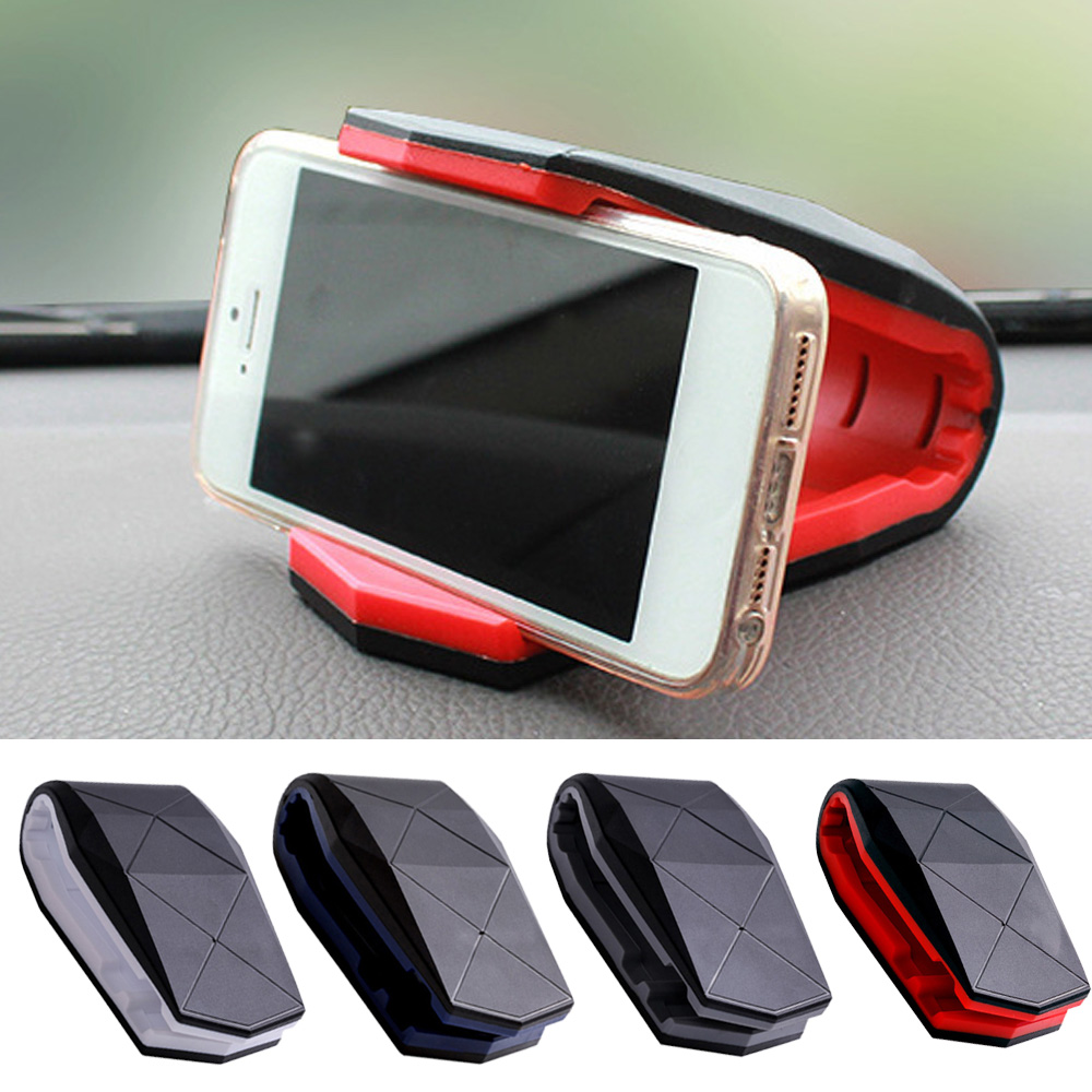 Besegad Alligator Mouth Clip Design Cell Mobile Phone Car Mount Holder Stand for iPhone 6S 8 X Samsung Galaxy S8 Edge SmartPhone