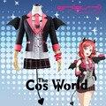 Love Live School Idol Project Nishikino Maki Bat Devil Demon Fancy Dress Uniform Outfit Anime Cosplay Costumes
