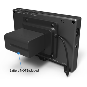 Image 5 - Lilliput FS7 Metal housing Full HD 7 Inch SDI Monitor With 4K HDMI Camera Assist