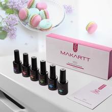 UV Gel Nail Polish 6 pcs Set with Gift Box