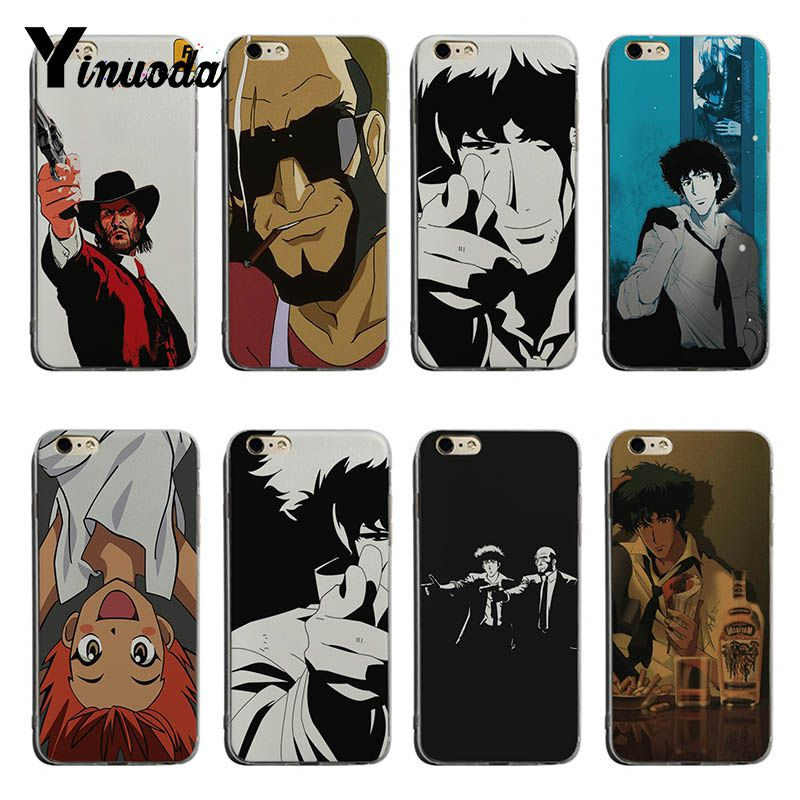 Yinuoda Cowboy Bebop Spike Cute Phone Accessories Case For iPhone 6plus 6s 7 7plus 8 8plus X XS XR XSMax Coque Shell