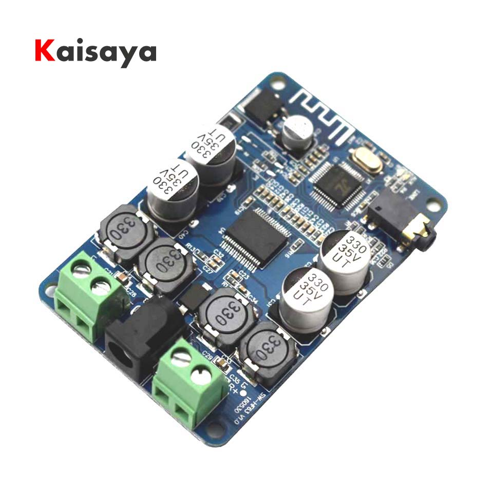 TDA7492P 2 x 25W Bluetooth V2.1 Audio Receiver Amplifier Board With AUX Interface A8-019
