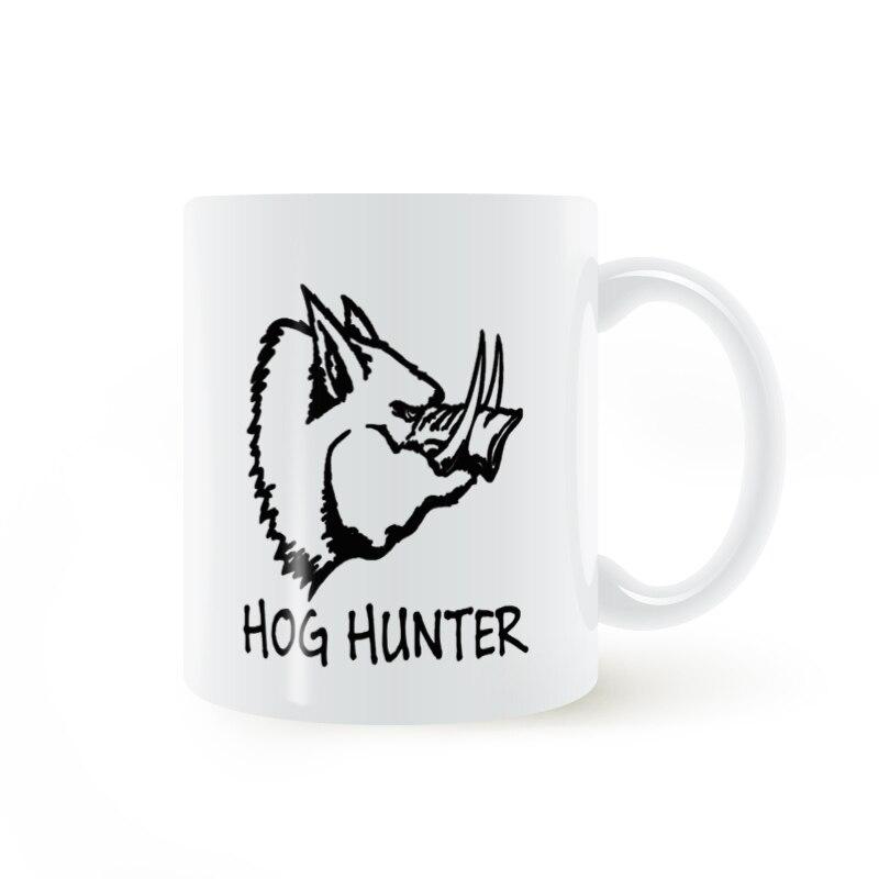 Hog Hunter Wild Boar Pig Swine Hunting Mug Coffee Milk