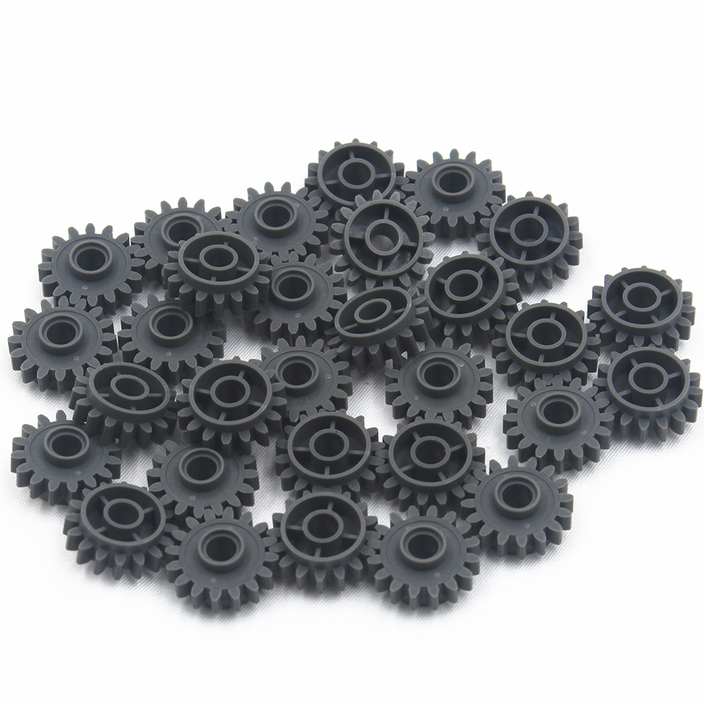 Self-Locking Bricks Free Creation Of Toy Technic GEAR WHEEL Z16 DIA4.9 30Pcs Compatible With Lego 4237267