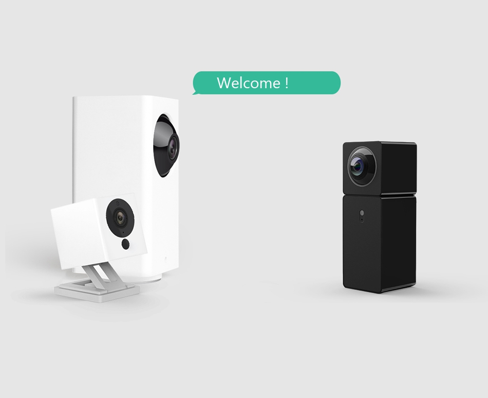 Xiaomi Hualai Xiaofang Smart IP Camera 1080P WIFI Dual Lens Panoramic View VR View Mode Night Vision Baby Monitor