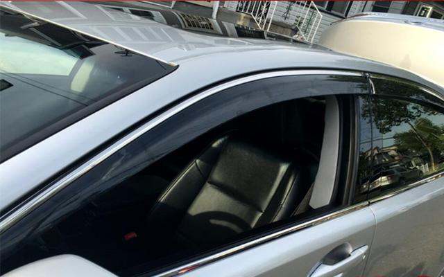 4pcs Window Visor Deflector Rain Guard For Lexus Es Es250 Es300h Es350 2017