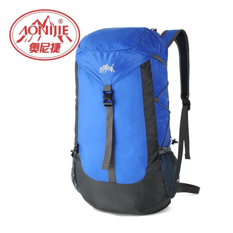 Aonijie 30l bolso del alpinismo impermeable mochila de camping al aire libre sen