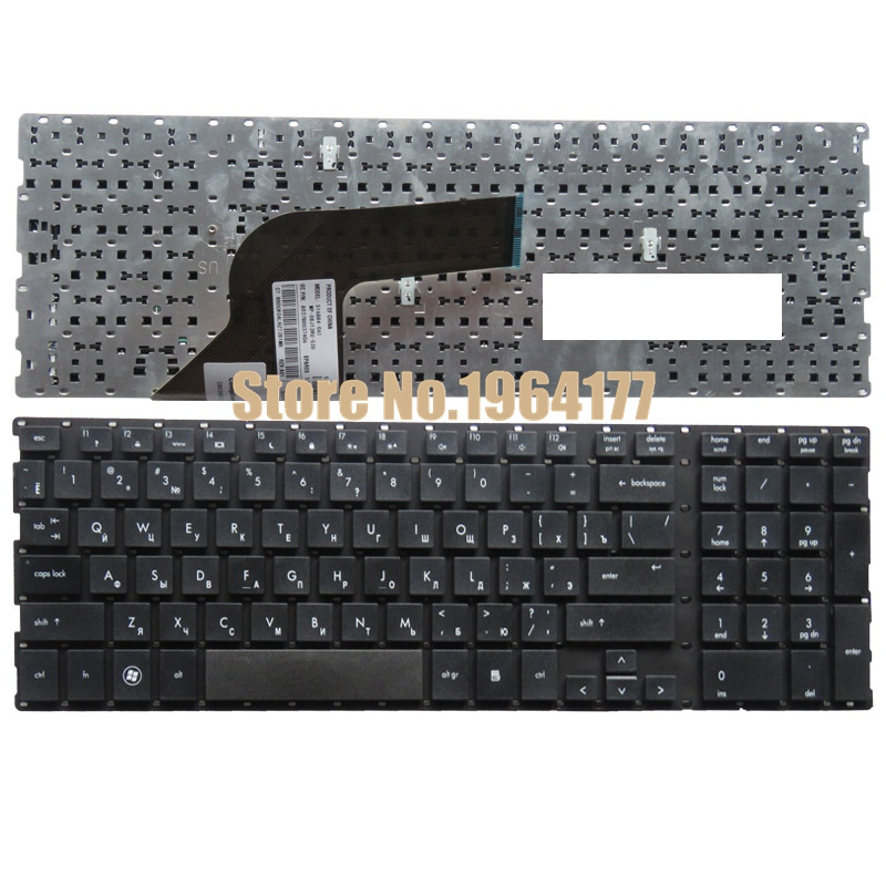 Russian laptop keyboard FOR HP ProBooK 4510 4710 4510S 4515S 4710S 4750S RU Without frame laptop keyboard for hp probook 4510s 4515s black without frame be belgium sn5092 sg 33200 2ja