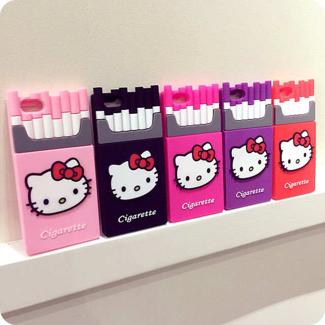 new product 1634c 62d41 US $49.99 |Cute Hello Kitty Case For iPhone SE 5 5s 6 6s Plus Soft TPU  Pouch Mobile Phone Case Cover For Apple iPhone Cases on Aliexpress.com | ...