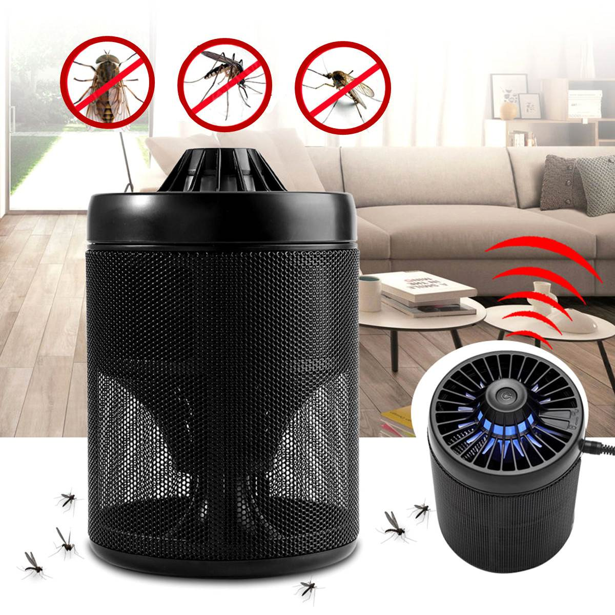 Smart UV LED USB Charge Mosquito lamp Fly Bug Insect Trap Killer Lamp Zapper Light Pest Control Lights Novelty Lighting night lighthouse shape uv mosquito control lamp pest fly bug moth killer light zapper pest control outdoor light