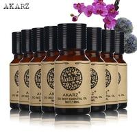 AKARZ Famous brand value meals Geranium Frankincense Ylang Oregano Neroli Myrrh Helichrysum Eucalyptus essential Oils 10ml*8