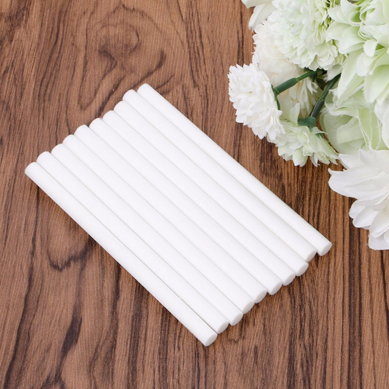 8mm*130mm Cotton Swab for Air Humidifier for car diffuser Aroma Diffuser Humidifiers Filters Can Be Cut Replace Parts 10 PCS/set