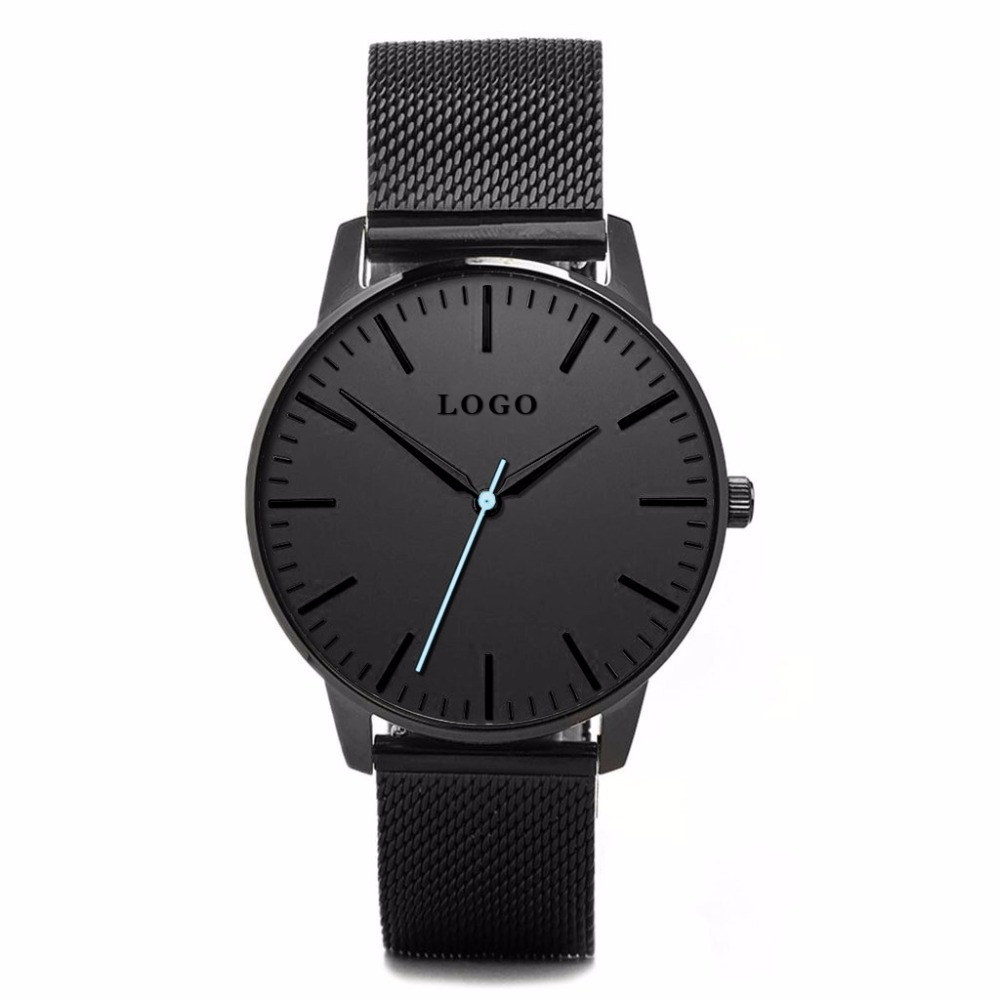 Small MOQ Custom Logo Fashion Watches Simple Design OEM Thin Minimalist Quartz Wrist Watch for Men and Women  Clcok adjustable wrist and forearm splint external fixed support wrist brace fixing orthosisfit for men and women