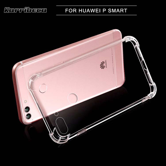 tenga en cuenta Acuoso idioma  Transparent Silicone Case For Huawei P smart funda carcasa hoesje  shockproof clear soft tpu cover FIG LX1/LX2 etui coque tok|Fitted Cases| -  AliExpress
