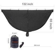 Hangmat Bug Netto Ultralight Klamboe Outdoor Camping Hangmatten Netting 325*140 CM Met Kleine Stuff Sack Gewicht 0.88 LBS NIEUWE