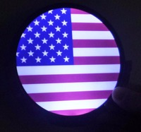 ZYHW Brand New 2017 Stars And Stripes Sign Glowing Led Light The American Frag Car Decal