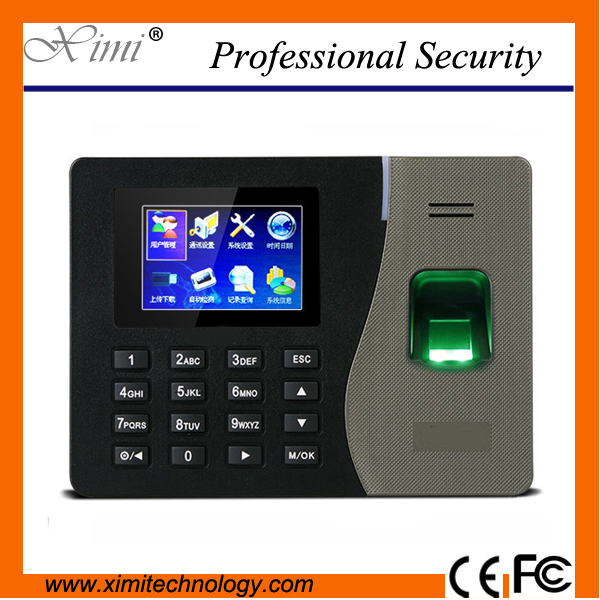NEW ZK K14 Biometric Fingerprint Time Attendance Clcok Time Recorder Employee Manage Time Clock with Build-in Battery manage enterprise knowledge systematically