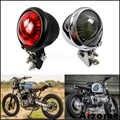 Motocicleta do vintage led cauda luz scrambler parar luzes da lâmpada traseira mini bates lanterna traseira para honda yamaha cafe racer cb xs gs