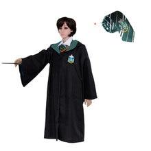 67161d421c2c95 Dla dzieci dla dorosłych dla hermiona Ron cosplay harry Potter szata  peleryna płaszcz Gryffindor/SlytherinRavenclaw