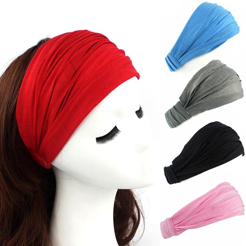 Women Wide Headbands Headpiece Turban Bandage Hair Bands Women Headbands Headwrap Turban Headwear  Bandana