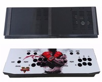 2 Player Iron Arcade Game Controller Box With Sticker For PC MAME Multicade Keyboard Encoder Arcade