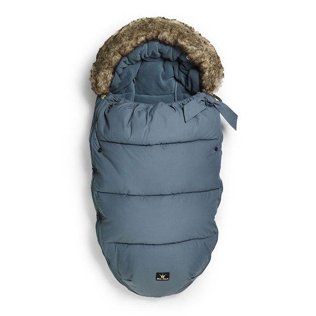 Конверт для новорожденных Водонепроницаемый спальный мешок для малышей зимние детские кровати для коляски корзина Одеяло пеленать новорожденного Elodie Details
