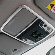 Plastica ABS Per Honda CR-V CRV 2017 Car styling accessori Auto di lettura anteriore Paralume leggere luce telaio del pannello di Copertura Trim