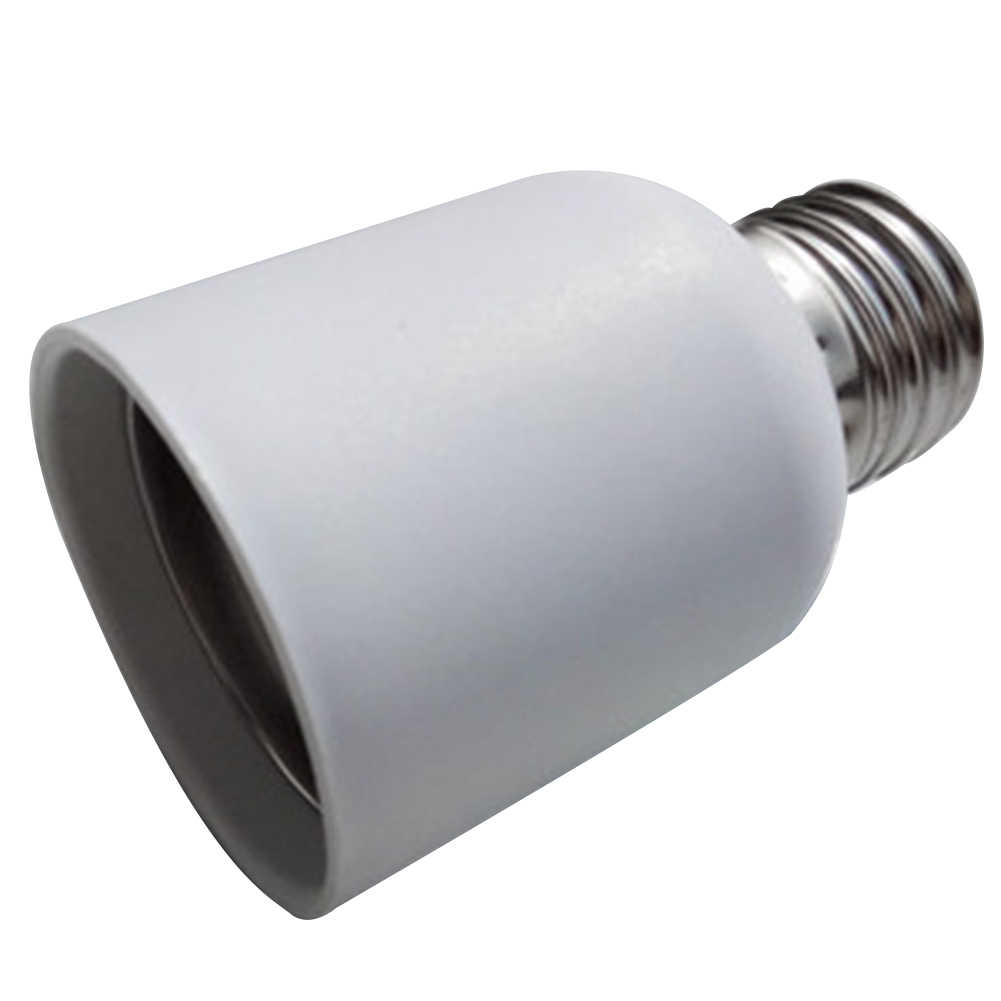 E27 To E40 Accessories Led Socket Heat Resistant Adapter Lightweight Home Bulb Screw Base Lamp Holder Converter Medium Light