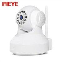 Imieye 720 p המצלמה wifi ip אלחוטי ir ראיית לילה אבטחת בית פאן הטיה זום טלוויזיה במעגל סגור מעקבים 64 כרטיס TF גרם P2P Onvif Webcam
