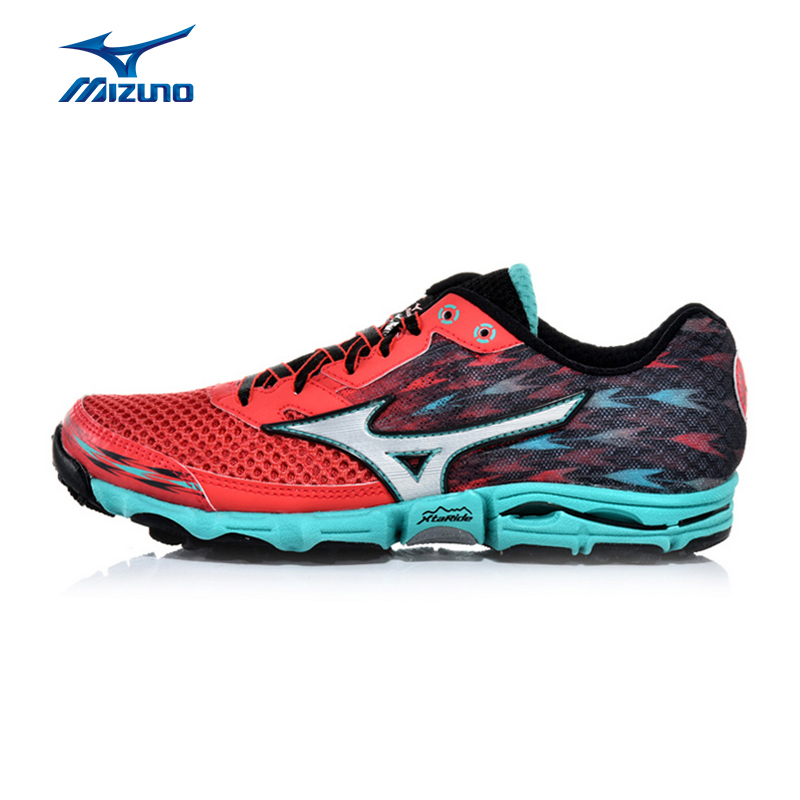 MIZUNO Women WAVE HAYATE 2 Mesh Breathable Light Weight Cushioning Jogging Running Shoes Sneakers Sport Shoes J1GK157204 XYP369 mizuno wave paradox 2 mizuno mznj1gc1540
