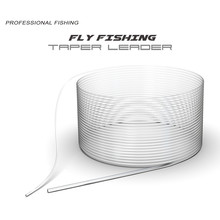 Fly Fishing Lines Flying Brain Line Taper Leader Front Wire 9FT 2.75M Fishing Accessory Lure Tool Pesca 0X-6X Sinking Leo 27965(China)