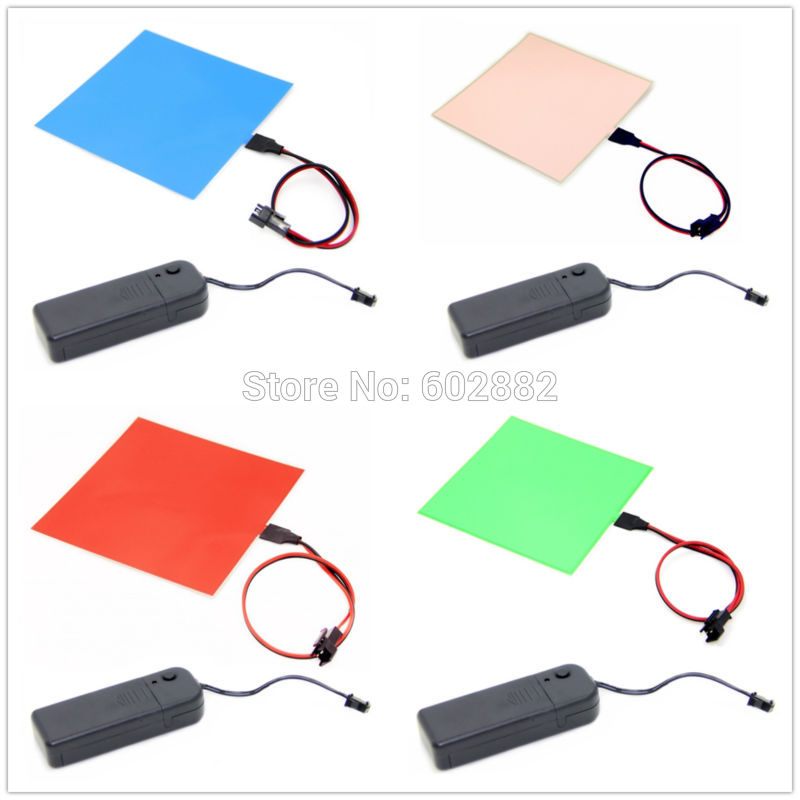 panel led, 10x10cm EL Backlight, EL Panel + 3V Inverter
